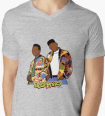 Fresh Prince Men's V-Neck T-Shirt