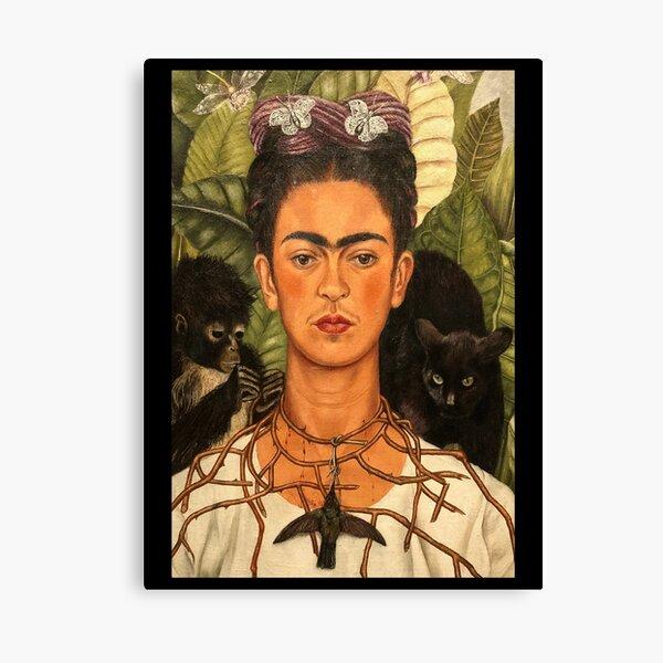 Camiseta Retro Vintage Frida Kahlo Target Lienzo
