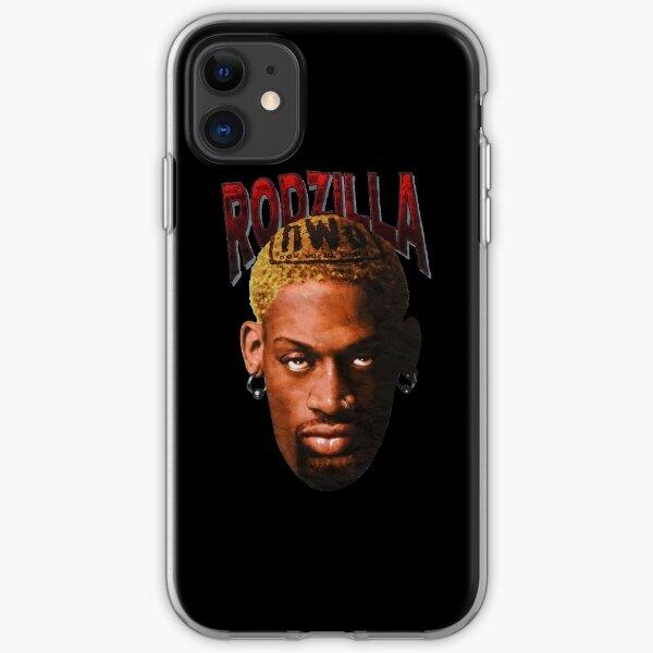 Rodzilla Face lengend iPhone Soft Case