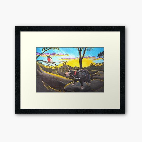 Return to the Den Framed Art Print