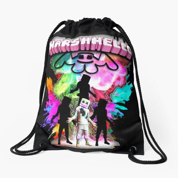 MarshMello shadow colors Drawstring Bag