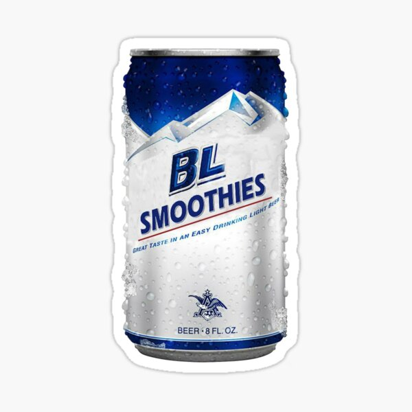 BL Smoothies Beer Sticker