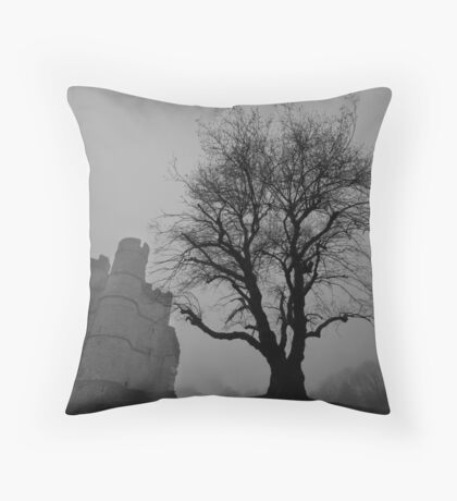 Mists of Time Throw Pillow