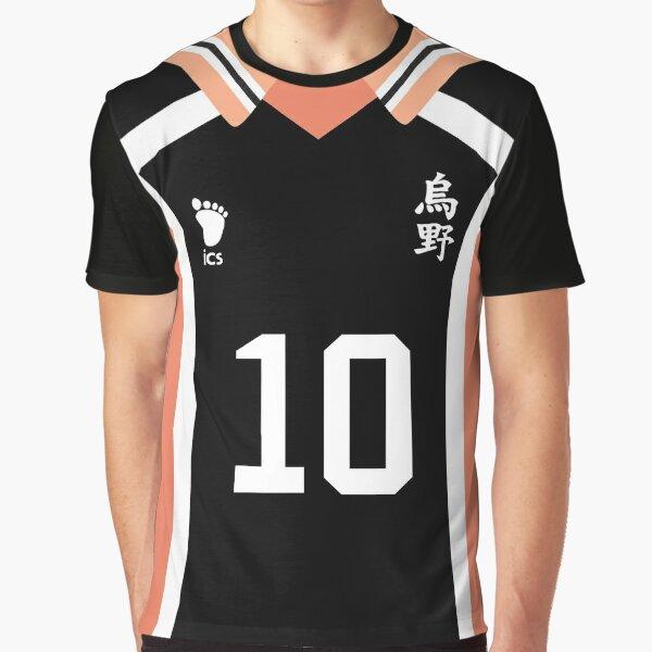 """""""Haikyuu!!"""" - Hinata Jersey Graphic T-Shirt"""
