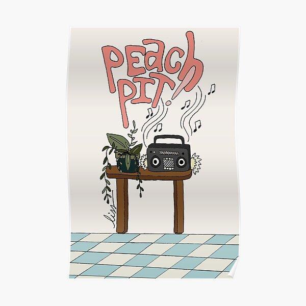 PEACH PIT! ALBUM FAN ART Poster