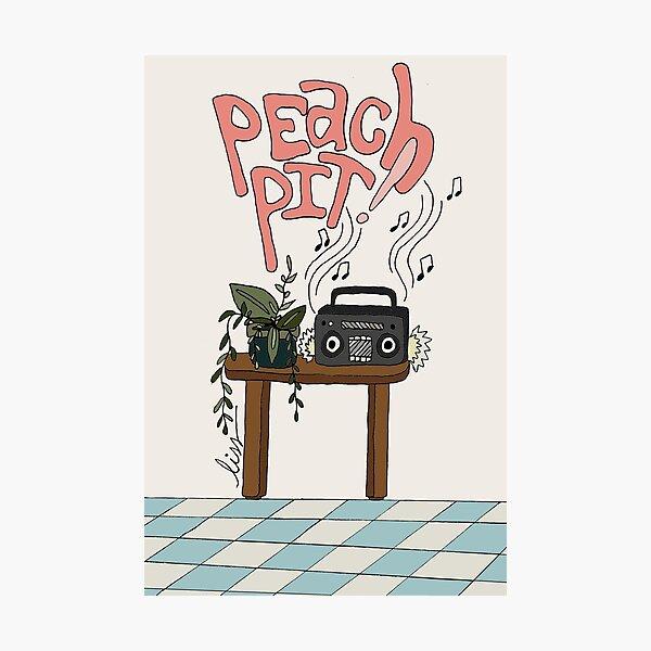 PEACH PIT! ALBUM FAN ART Photographic Print