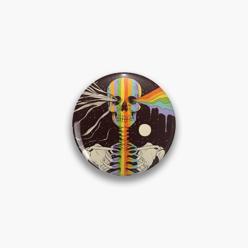 Dark Side of Existence Pin