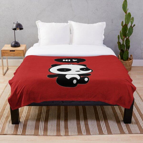 Hi panda  Throw Blanket