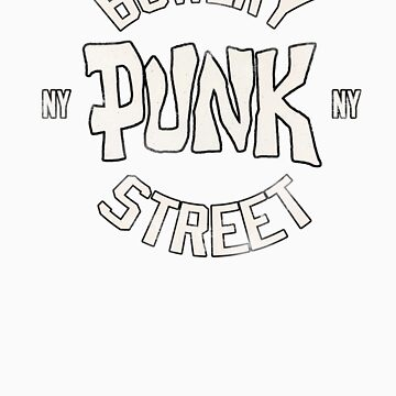 Bowery Punk Street by thebeatter