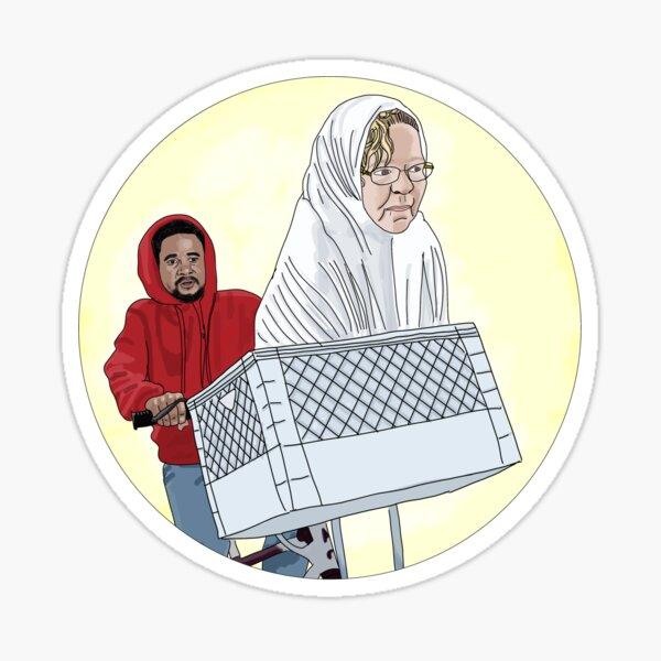 Usman and Lisa - 90 day fiance  Sticker