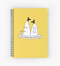 The Consulting Banana Spiral Notebook