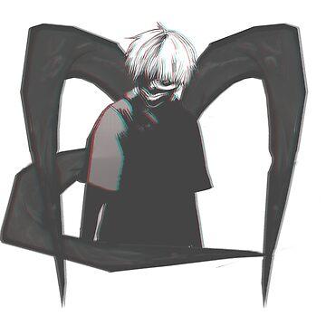 Kaneki Ken - Eye patch Ghoul  by NomadSenpai