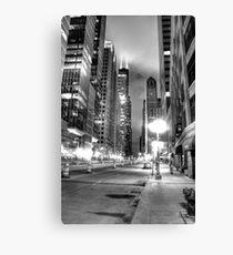 City Under Construction. Canvas Print