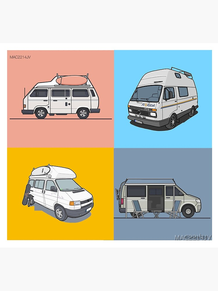 Our Campervans - rocking the streets since 1988 by MAC2214JV