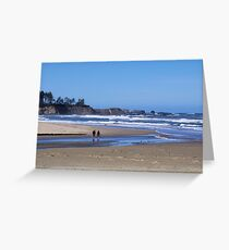 Oregon's Beautiful Southern Beach  Greeting Card
