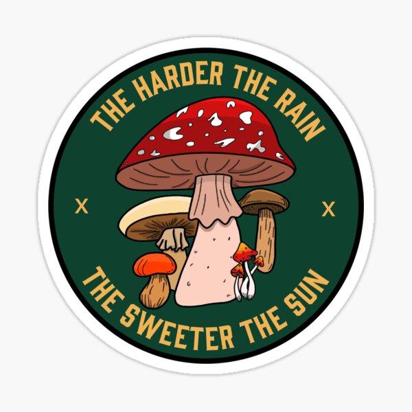 hozier mushroom  Sticker