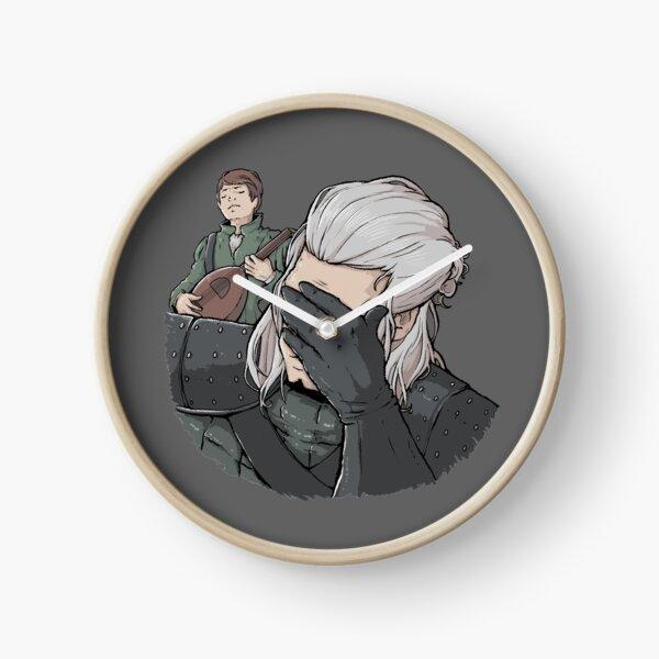 Geralt Face Palm Clock