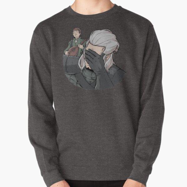 Geralt Face Palm Pullover Sweatshirt