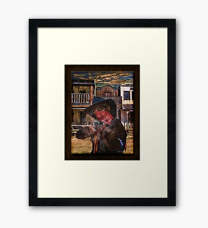 Take That You Son Of A.... Framed Print