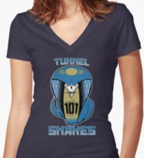 Scourge of Vault 101 Women's Fitted V-Neck T-Shirt