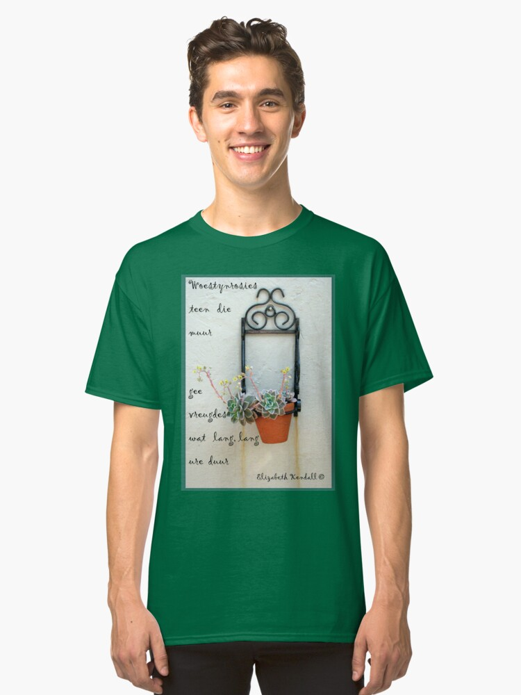Woestynrooswoorde Classic T-Shirt Front