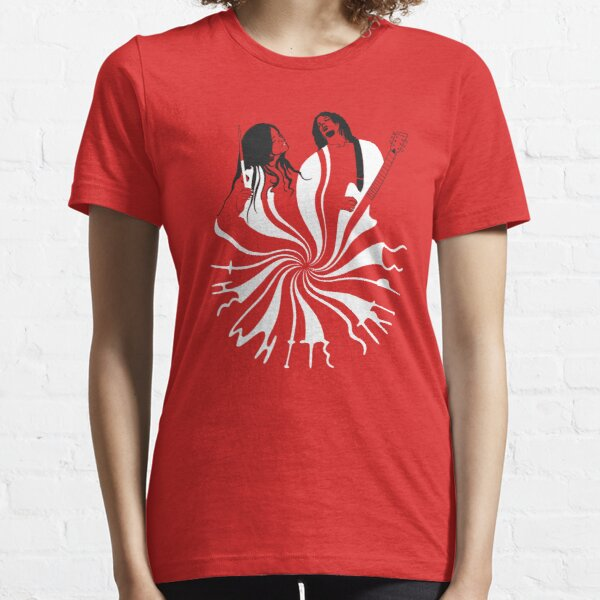 Candy Cane Children (on red) Essential T-Shirt