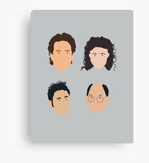 Jerry, Elaine, Kramer, George Canvas Print