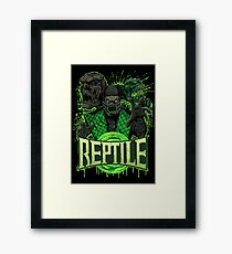 REPTILE Framed Print