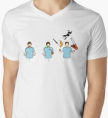 Learn to juggle Mens V-Neck T-Shirt