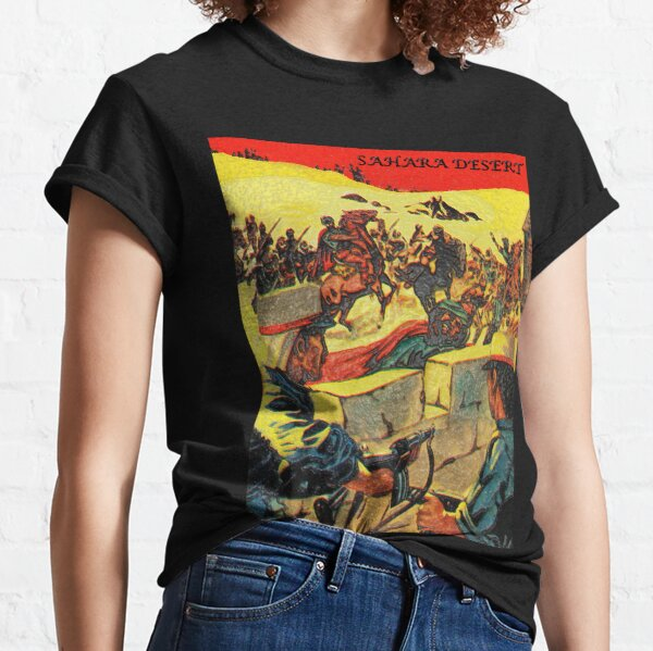 Sahara Desert - The Scarlet Riders (Unique Art) Classic T-Shirt