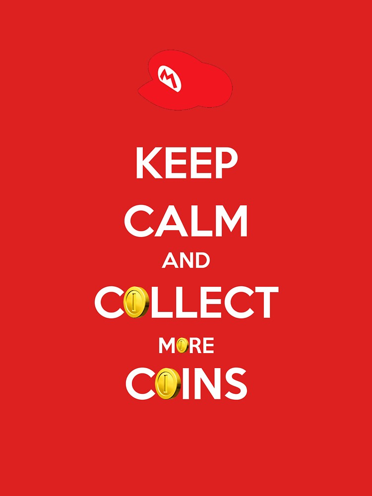 Keep Calm Mario by thethorn