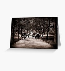 Greenwich Park Greeting Card