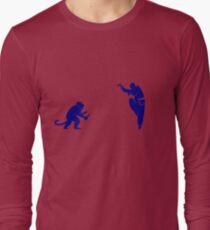 Monkey Kung Fu with Knife T-Shirt