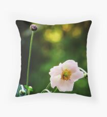 Graceful bow Throw Pillow