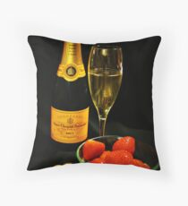 The date Throw Pillow