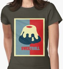 Believe In The Sweetroll Women's Fitted T-Shirt
