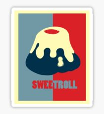 Believe In The Sweetroll Sticker
