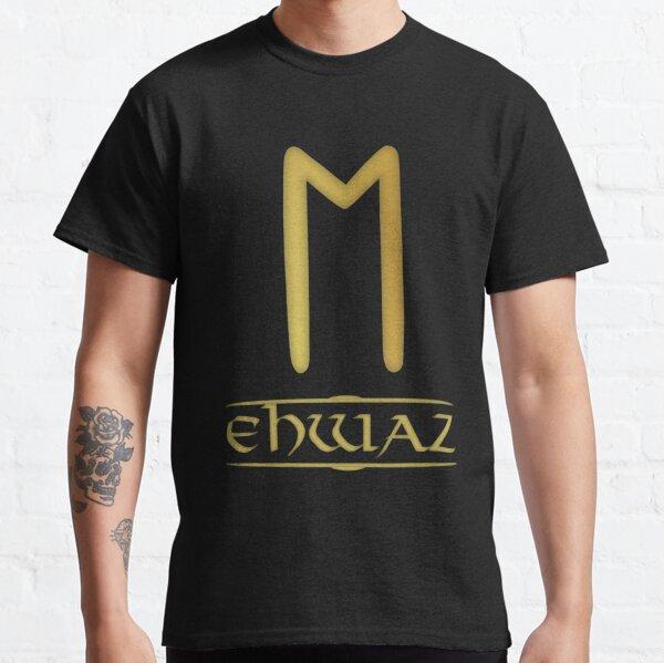 Ehwaz - Rune / Älteres Futhark / Serie aus 24 Runen Classic T-Shirt