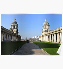 Greenwich University - Naval College  Poster