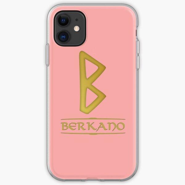 Berkano - Rune / Älteres Futhark / Serie aus 24 Runen iPhone Flexible Hülle