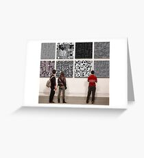 Eight Abstracts Greeting Card