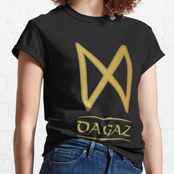 Dagaz - Rune / Älteres Futhark / Serie aus 24 Runen Classic T-Shirt