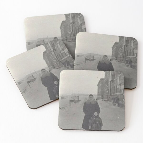 Norilsk Norillag Coasters (Set of 4)