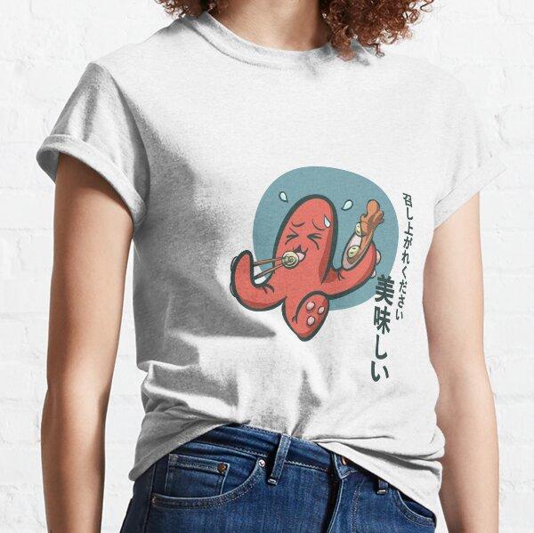 Poulpe manga T-shirt classique