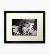 Lil' Angel Framed Print