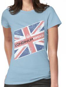 London 2012 - Londinium MMXII Union Jack  Womens Fitted T-Shirt