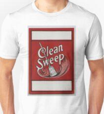 Clean Sweep Broom Label T-Shirt