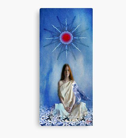Priestess Of Avalon Canvas Print