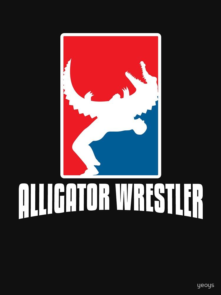 Alligator Wrestler - Reptile Party Alligator by yeoys