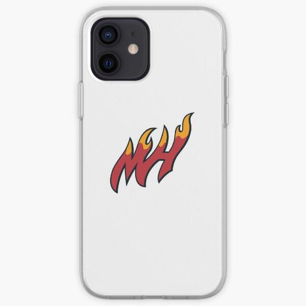 Logo MH Miami Heat Coque souple iPhone